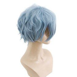 Hsiu Baru Kualitas Tinggi Tomura Shigaraki Cosplay Wig Saya Pahlawan Academy Kostum Bermain Wig Halloween Kostum Rambut Gratis Pengiriman