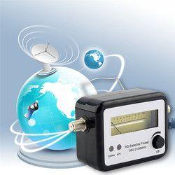 Цифровой сканер спутникового сигнала выравнивания сигнала приемник спутникового ТВ FTA ТВ приемник Finder оптовая продажа спутниковый ресивер