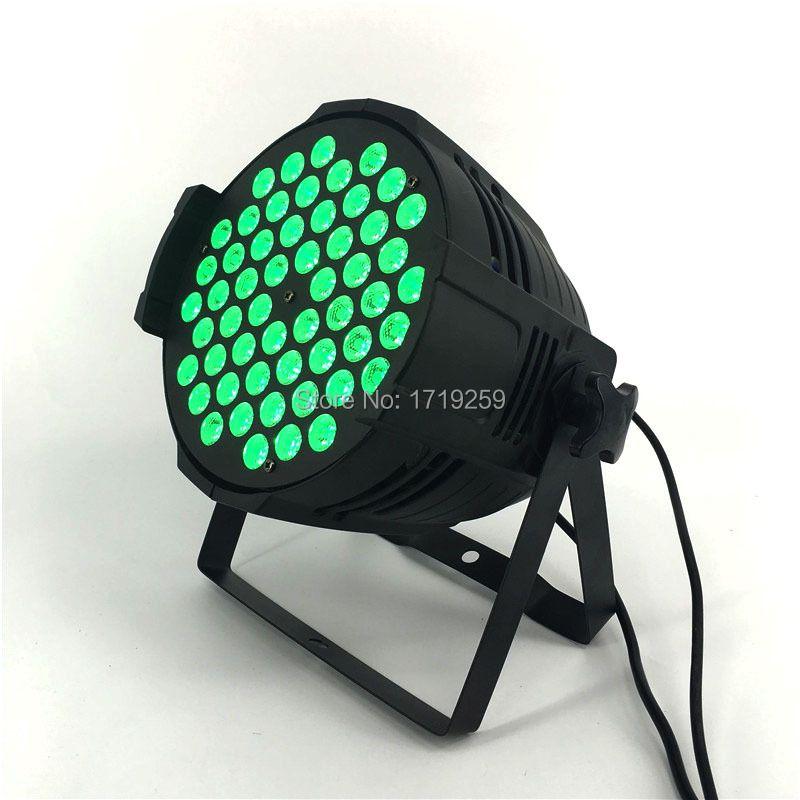 54x9W RGB LED Par Light DMX Stage Lights Par Can for Party KTV Disco DJ Aluminum alloy,and LED Par Windmill Lighting