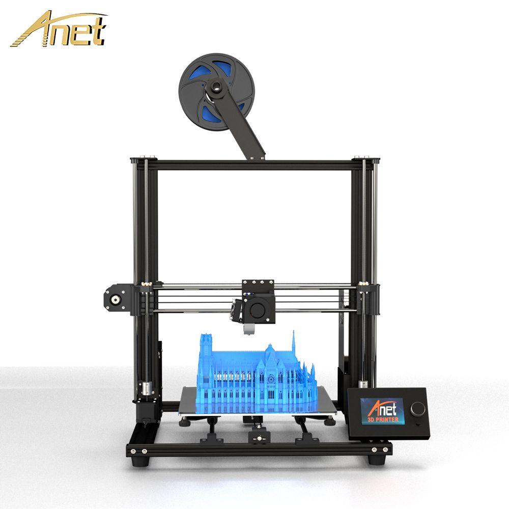 2019 Anet A8 Plus Verbesserte version DIY 3D Drucker Hohe Präzision Metall Desktop Impresora 3D Drucker 300x300 x 350mm PK Anet A8