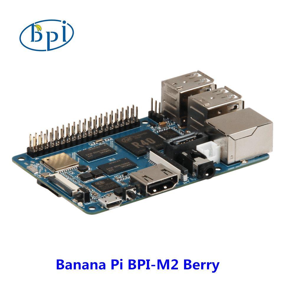 Nuevos productos! Quad Core de la corteza A7 CPU 1G DDR Plátano pi BPI-M2 Berry, mismo tamaño que raspberry pi 3