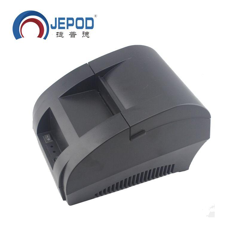 JP-5890K JEPOD 58mm Imprimante Thermique pour le Supermarché Imprimante Ticket Thermique pour Système POS Thermique Imprimante De Facturation pour la Cuisine