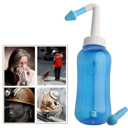 Adults Children Neti Pot Standard Nasal Nose Wash Yoga Detox Sinus Allergies Relief Rinse 300ml