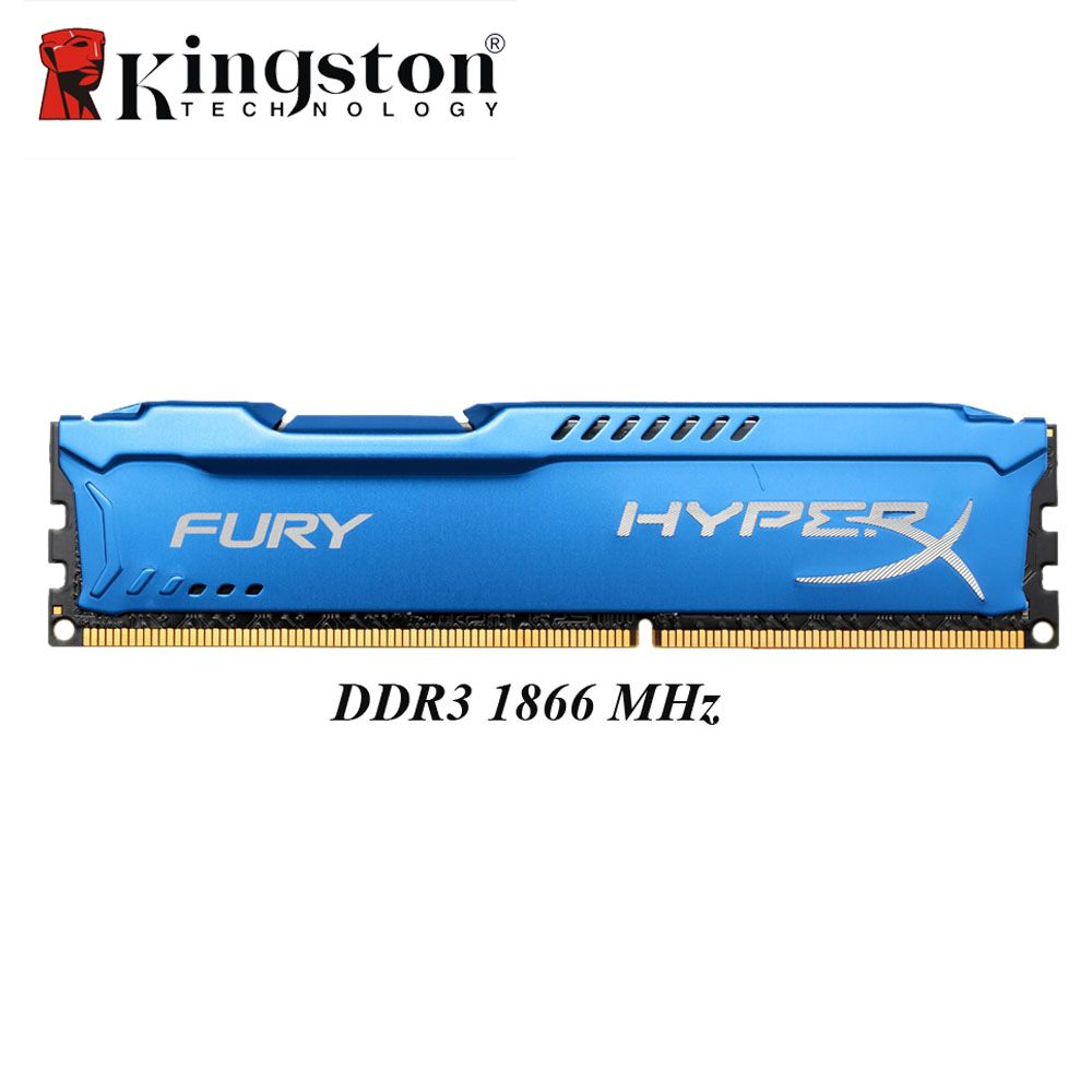 Kingston HyperX Fury DDR3 4GB 8GB Memoria RAM 1866MHz DDR 3 DIMM Intel Gaming Memory For Desktop PC 204pin DDR3 SDRAM 4 GB 8 GB