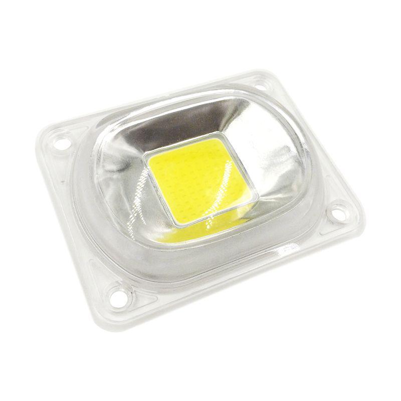1 компл. светодио дный COB чип с объектива отражатель 50 Вт 30 Вт 20 Вт 230 В 110 В Smart IC DIY для светодио дный прожектор Soptlight нужно радиатор для охлажде...