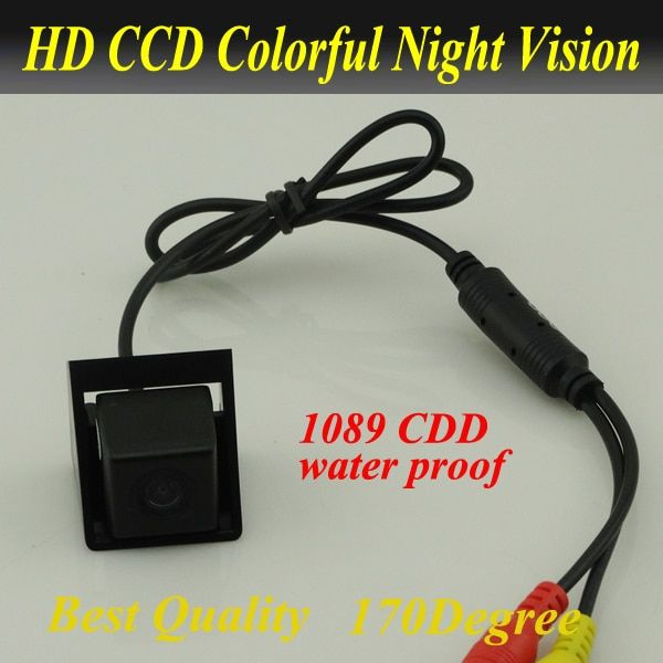 <font><b>Promotion</b></font> CCD Car rearview camera Car rear view camera for Ssangyong new Actyon Korando waterproof night version Free shipping