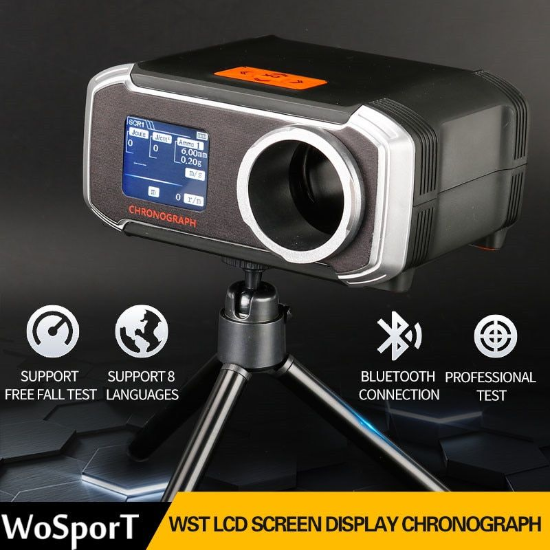 WoSporT Hunting Tactical Airsoft Speed Tester Paintball BB Shooting Chronograph Tester Air Gun Accessories