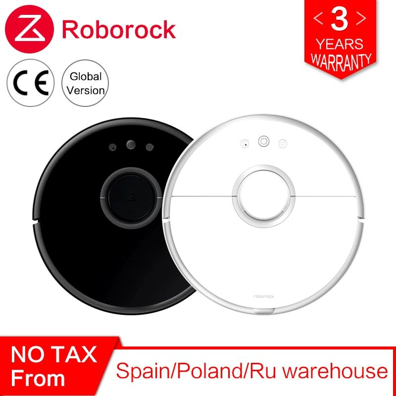 Roborock s50 s55 Robot Xiaomi Vacuum Cleaner 2 for Home Smart Cleaning Wet Mopping Mi Carpet Dust Automatic Sweeping Wireless