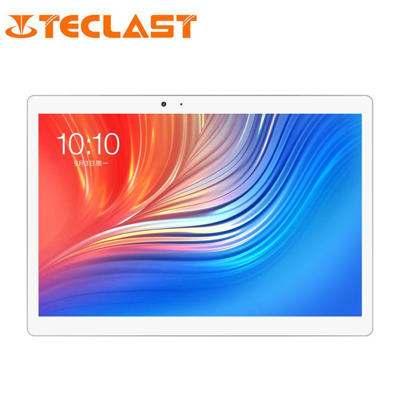 10.1 inch Teclast T20 Dual 4G Phone Call Tablet 2560*1600 MT6797 Helio X27 Deca Core Android 7.0 4GB RAM 64GB ROM 8100mah 13MP