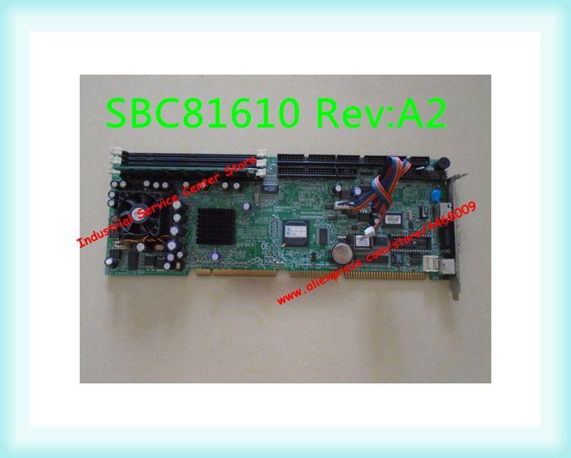 Original industrielle computer motherboard SBC81610 Rev: A2