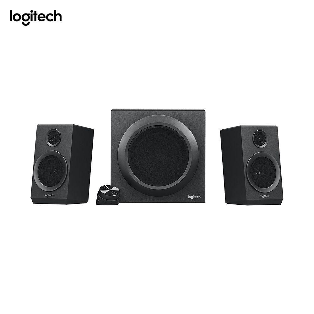 Logitech Z333, 2.1 canaux, 40 W, universel, noir, 80 W, filaire