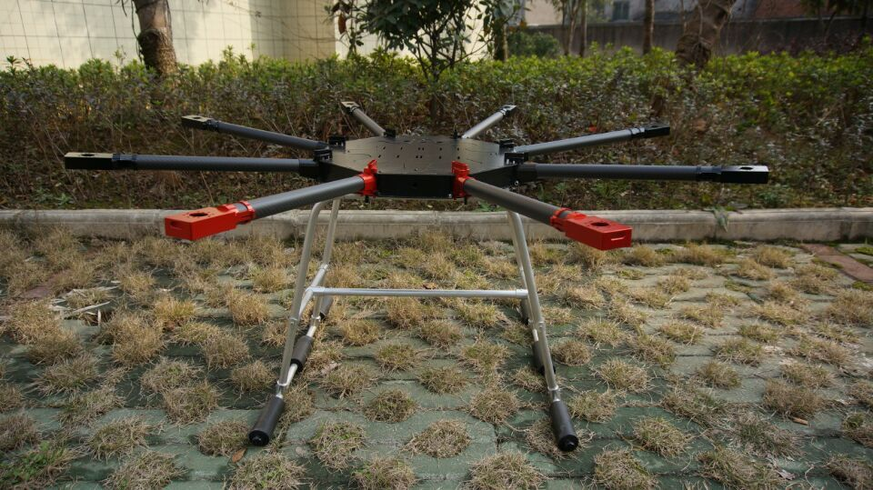 8 Axis 5KG 10L Agricultural Spraying unmanned RC drone empty carbon fiber frame Mist Agriculture Machine UAV frame