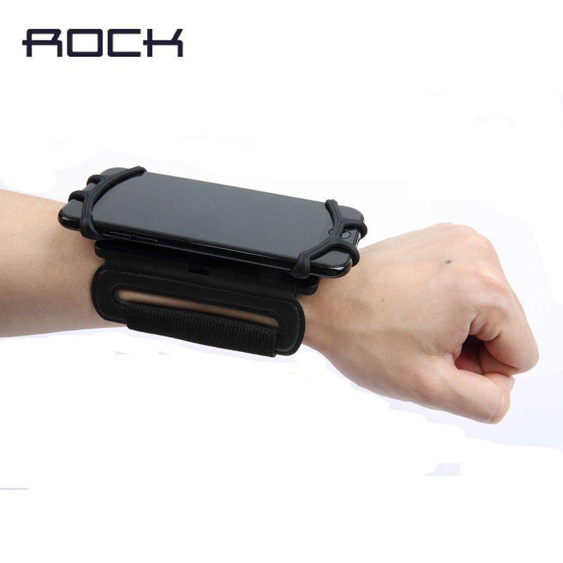 Roche Universel Bracelet étui pour iphone X 8 7 6 s Plus En Cours D'exécution Sport Housse de support pour samsung s8 S9 s8 plus Cyclisme pare-chocs