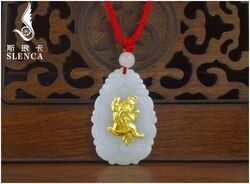 Free Shipping Good Quality Jade Pendant For Men Women Discount Necklaces On Hot Sales
