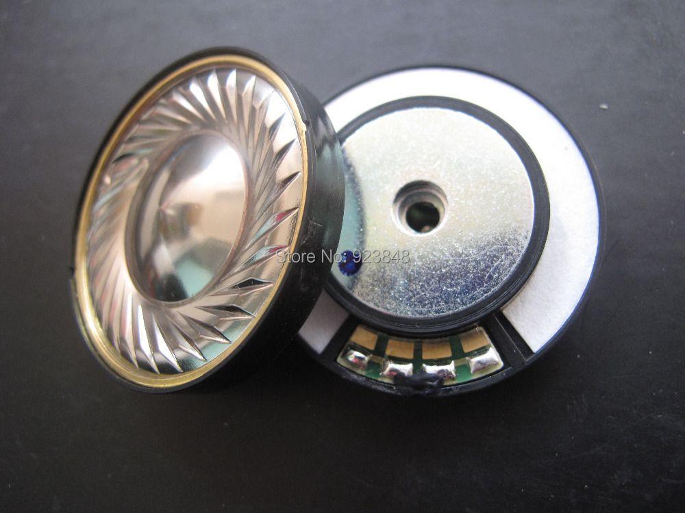 40 MM haut-parleur unité titane haut de gamme casque haut-parleur unité HIFI écouteur unité 2 pièces
