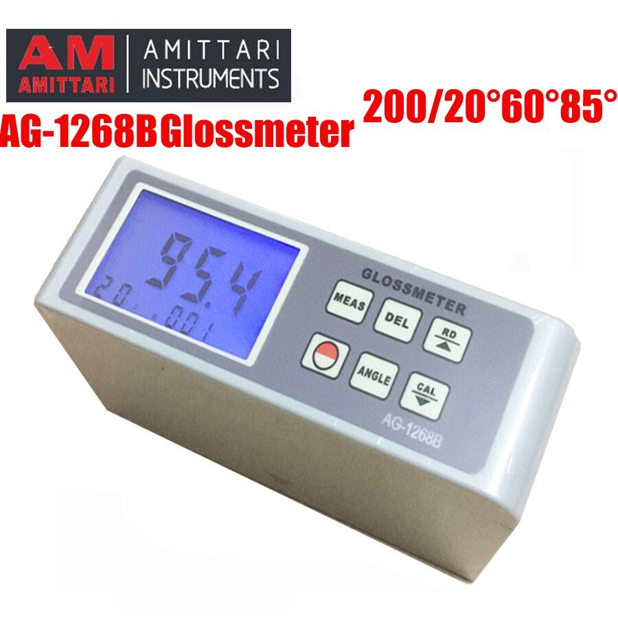 AG-1268B glanzmesser 20 60 85 Digitale Gloss Meter, glanzmesser Multi-winkel test farbe gloss meter oberfläche glanz test spektrometer
