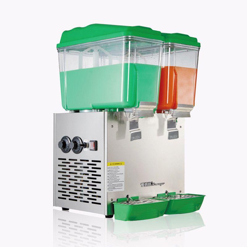30L Double Cylinder Cold and Hot Drink Machine Beverage Dispenser Juice Dispenser for Milk Tea Shop PL-230C