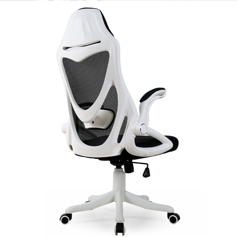Modern Simple Computer Chair Multifunction Office Chair Household Dormitory Game Chair Lifting and Rotating Breathable Mesh Seat