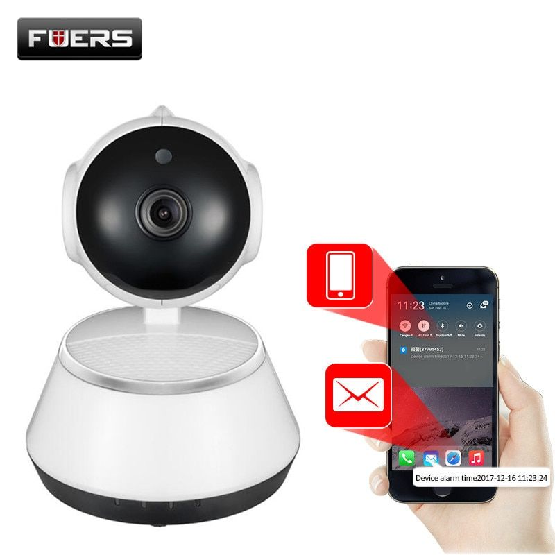 Fuers 720P IP Camera Wi-Fi Wireless Surveillance Camera P2P <font><b>CCTV</b></font> Wifi Ip Camera Free APP V380 Home Security Cam Baby Monitor
