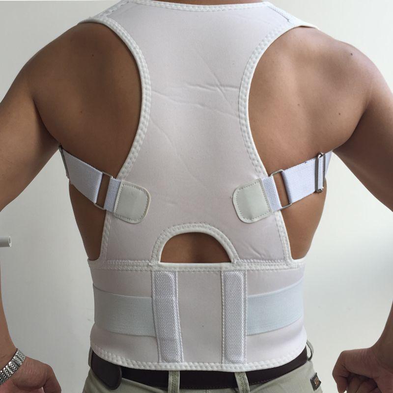 2018 Neoprene Male Corset Posture Corrector Women Brace Back Belt Lumbar Support Straight Back Medical Belt Corset Pain Relief