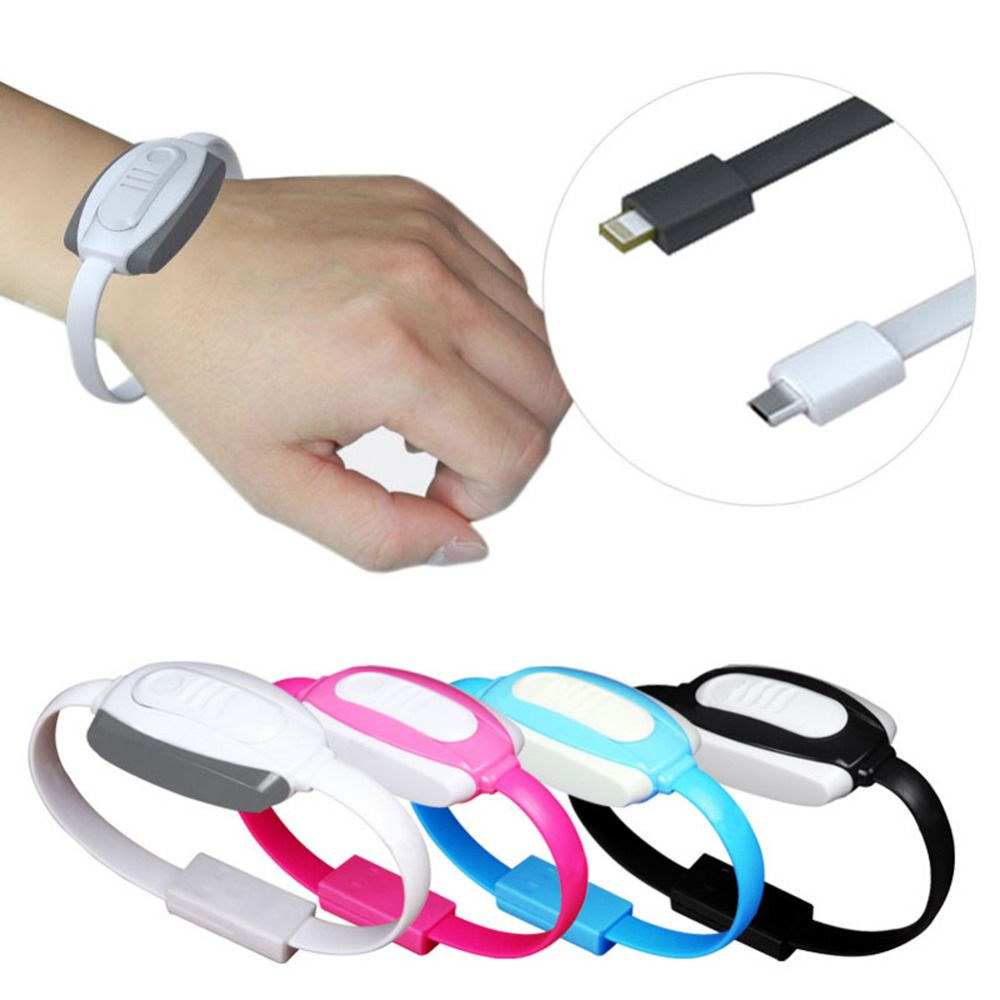 2017 New Multifunctional Lighter Bracelet + USB Data Cable + Emergency Charge for PowerBank For IOS For iphone567 For Android FG