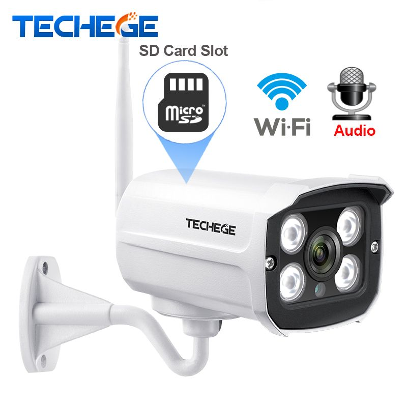 Techege MINI 1280*720P WIFI IP Camera Audio Waterproof HD Network 1.0MP wifi camera nignt vision Outdoor wireless camera Yoosee