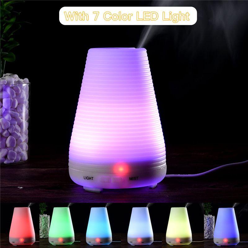 Elektrische Aroma Ätherisches Öl Diffusor Ultraschall-luftbefeuchter Aromatherapie Humidificador Diffuseur Kühlen Nebel-hersteller Fogger 4445
