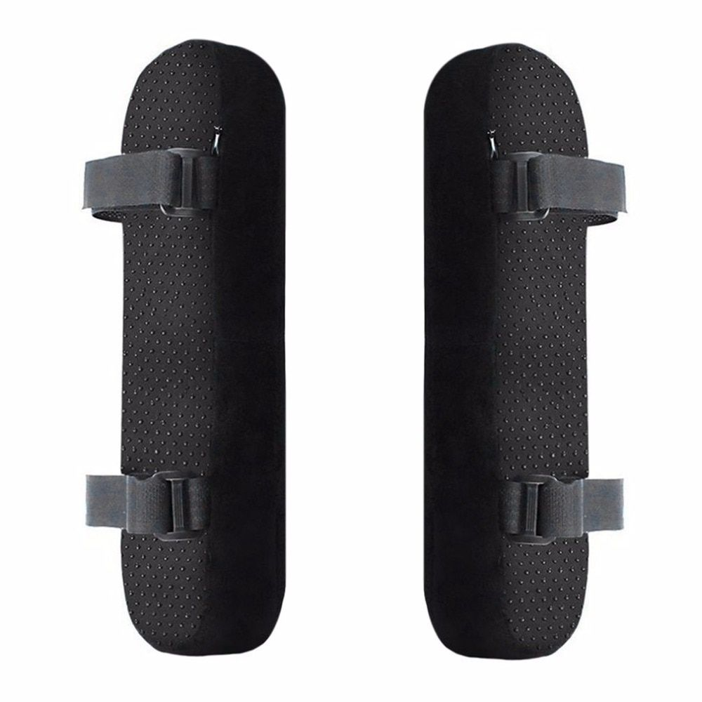 2 unids Reposabrazos Silla Almohadillas Ultra-Suave Codo Apoyo Almohada de Espuma de Memoria Silla Universal Fit Para El Hogar o la Oficina para Alivio de Codo