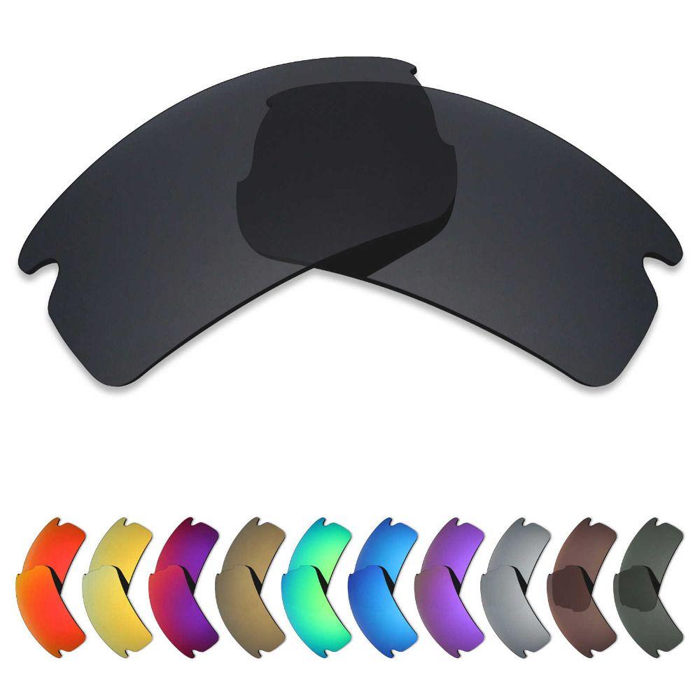 Mryok Polarized Replacement Lenses for Oakley Flak 2.0 Sunglasses Lenses(Lens Only) - Multiple Choices