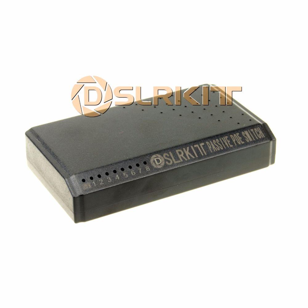 DSLRKIT 8 Порты 6 коммутатор PoE инжектор Мощность Over Ethernet без Адаптеры питания