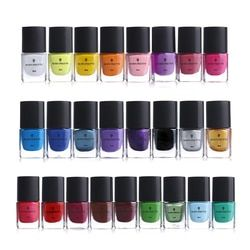 BORN PRETTY 1Bottle Nail Stamping Polish Varnish Colorful Nail Art Plate Printing Polish Lacquer 25 Colors Available