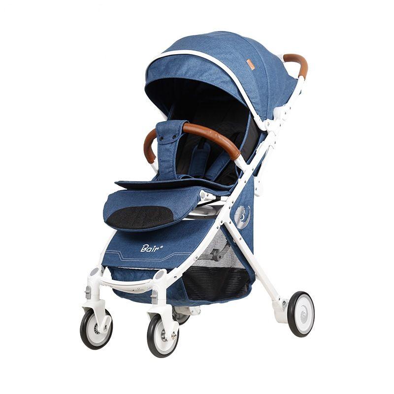 Баир детская коляска портативный складной портативный мини лежа тяга детские коляски