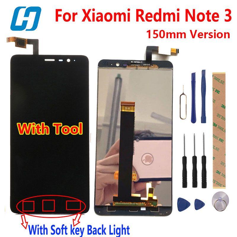 Xiaomi Redmi Note 3 Écran Tactile LCD Display + Écran Tactile Digitizer accessoire Panneau Pour Xiaomi Redmi Note 3 Pro Premier 150mm 5.5»
