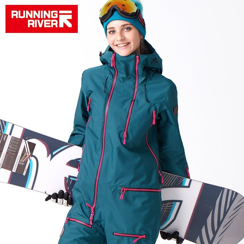RUNNING RIVER Brand Waterproof Jacket For women Snowboard Suit women Snowboard Jacket Female Snowboarding Set Clothing #B7091