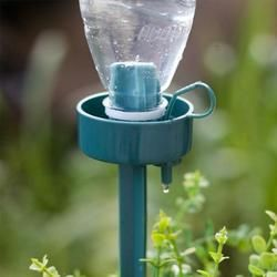 DIY Automatic Self-Watering Seepage Moving Plant Waterer Bottles Lazy Flower Water Drip Irrigation Device Controller
