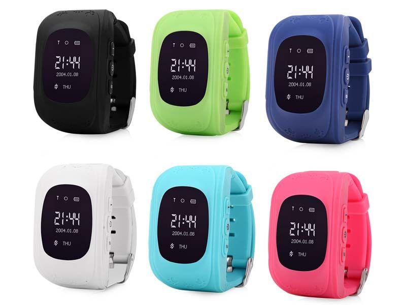 Q50 GPS Tracker часы для детей SOS аварийного анти потерял браслет Q50 Беспроводные устройства OLED Finder Locator Tracker GSM
