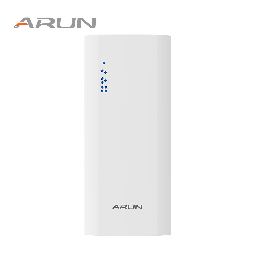 ARUN 10000mAh FD PLUS Power Bank Phone Charger Two Portable Charger Dual USB  External Battery For iPhone 5 6 6s 7 Samsung S8