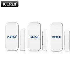 KERUI 433mhz Wireless Door Window Sensor Open Detector GSM PSTN Home Alarm System Home Security Voice Burglar Smart Alarm System