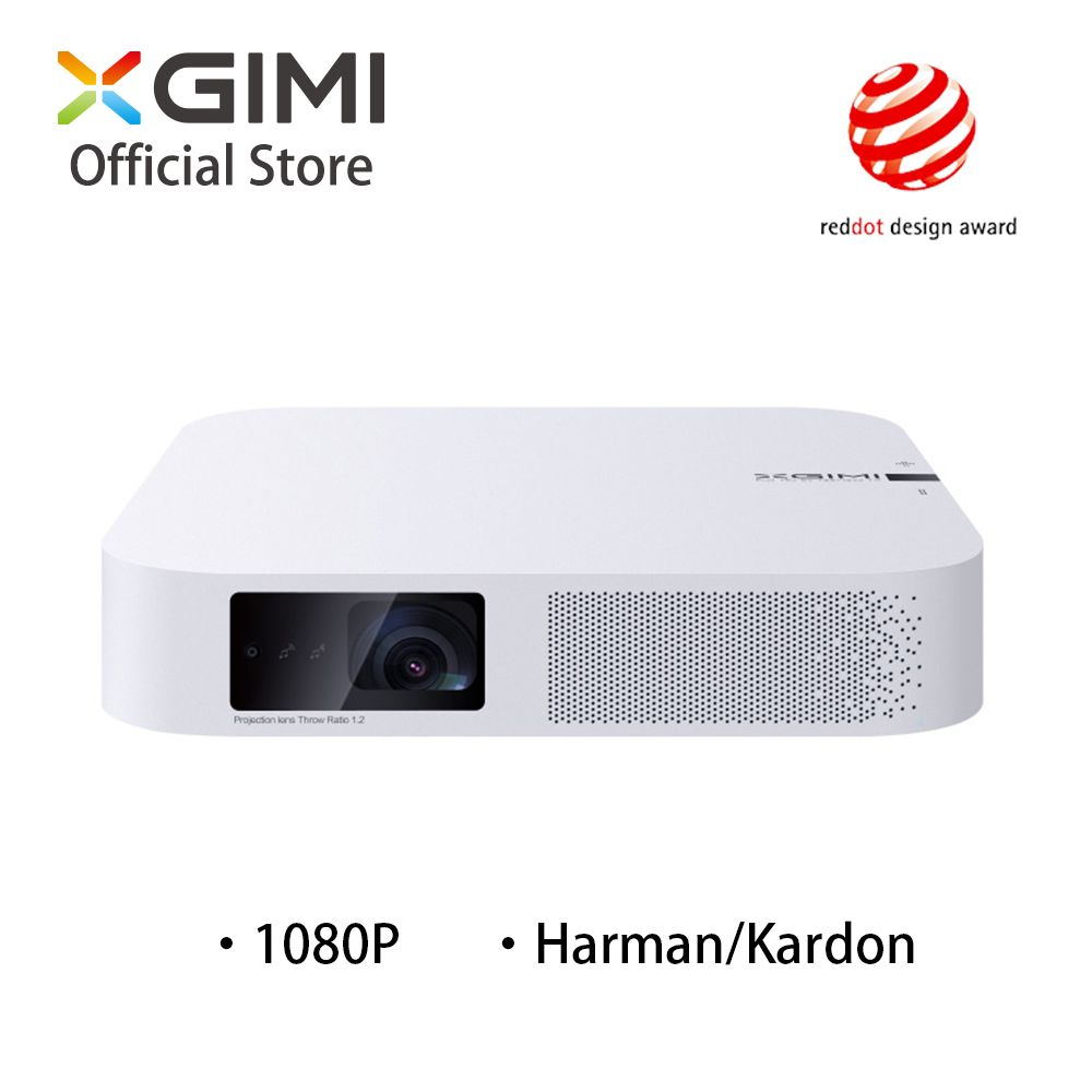 Smart Projektor XGIMI Z6 Polar 1080 p Volle HD 700 Ansi Lumen LED DLP Mini Projektor Android Wifi Bluetooth Smart heimkino