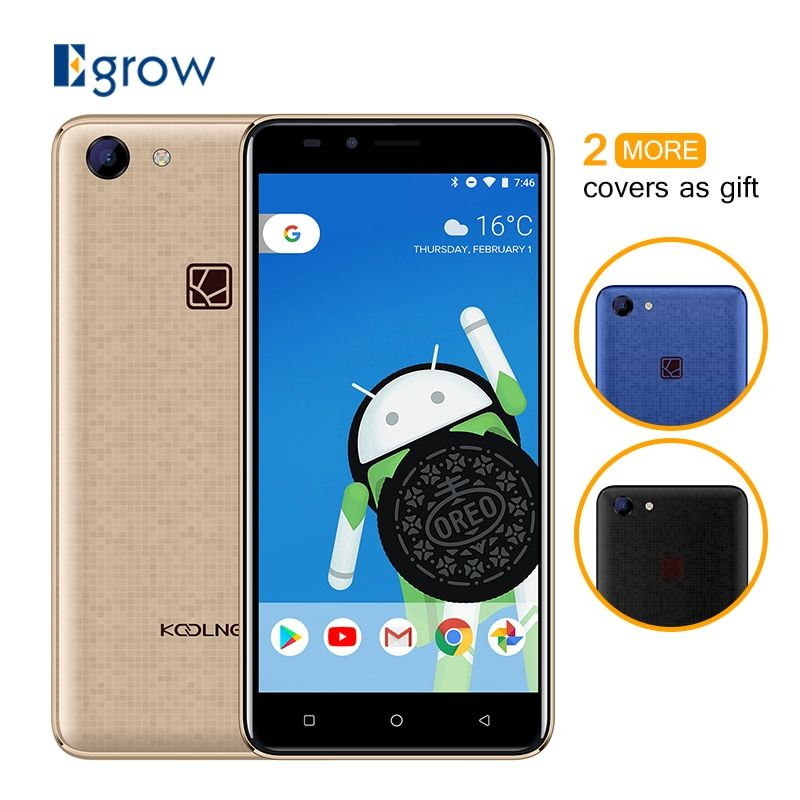 Koolnee Rainbow 5.0 Inch Android 8.1 1GB RAM 8GB ROM 3G Smartphone MTK6580 Quad Core 2400mAh Battery 8MP+5.0MP Mobile Phone