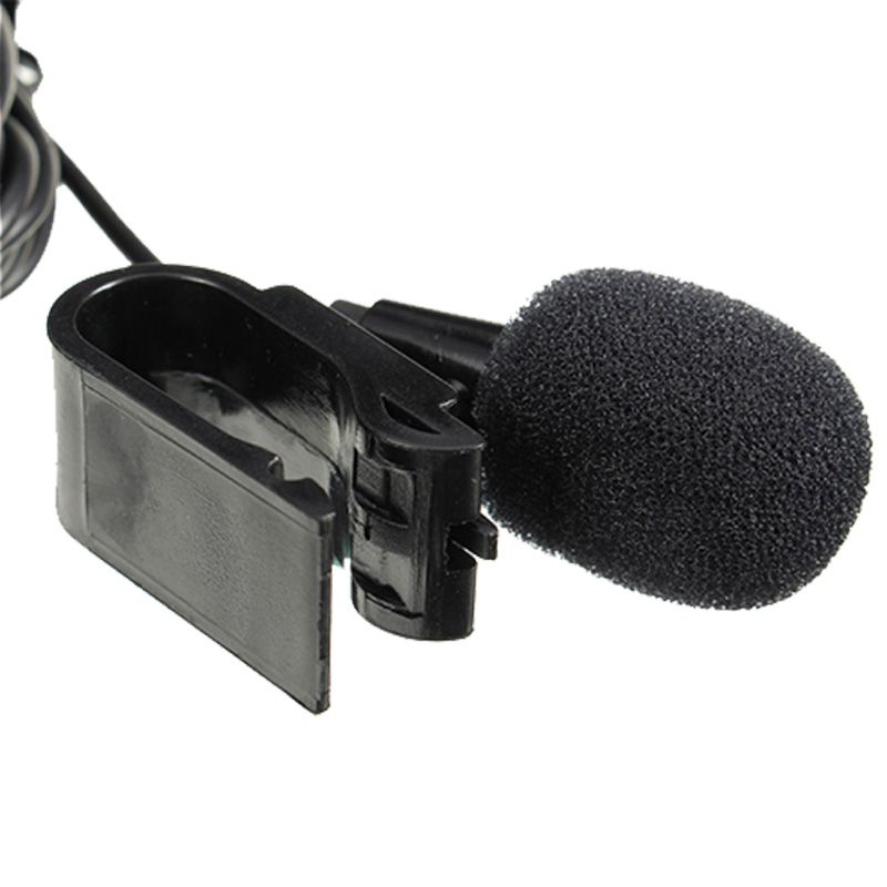 Professional 3.5 mm Stereo Microphone External Car Kit Microphones Handfree MIc for GPS car dvd car radio phone Free shipping