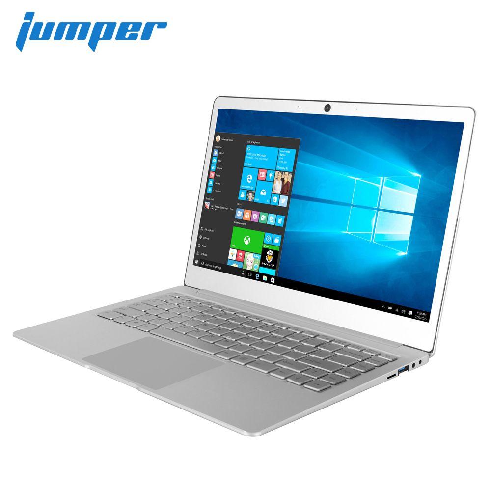 Neue 14 zoll IPS laptop Jumper EZbook X4 Metall Fall notebook Intel Celeron J3455 6G 128GB ultrabook 2,4 g/5G WIFI beleuchtete tastatur