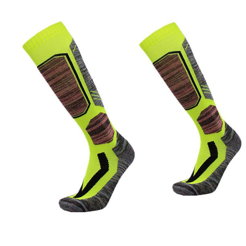 Women Men Winter Warm Thermal Ski Socks Thick Cotton Sports Snowboard Cycling Soccer Socks Thermsocks Leg Warmers sock MS1704001