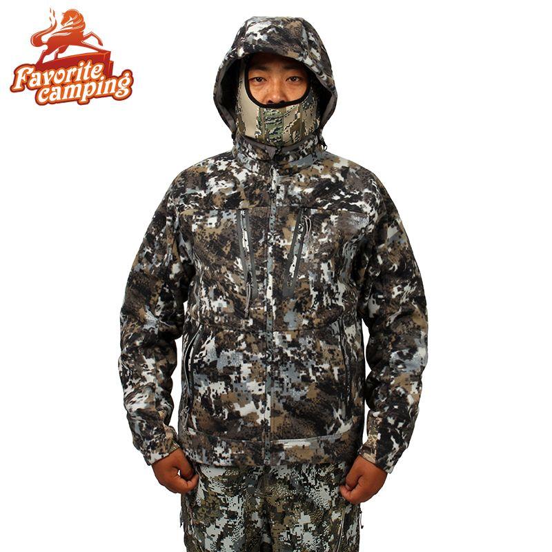 2017 Охота suicamouflage куртка Для мужчин Водонепроницаемый Охота одежда ветровка пальто же пункте Ситка Стратус