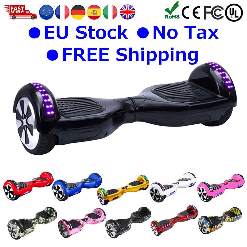 Europa Lager Hoverboard 6,5 Inch Selbst Ausgleich Roller Elektrische Skateboard Elektrische Bord Balance Board Trotinette Lectrique