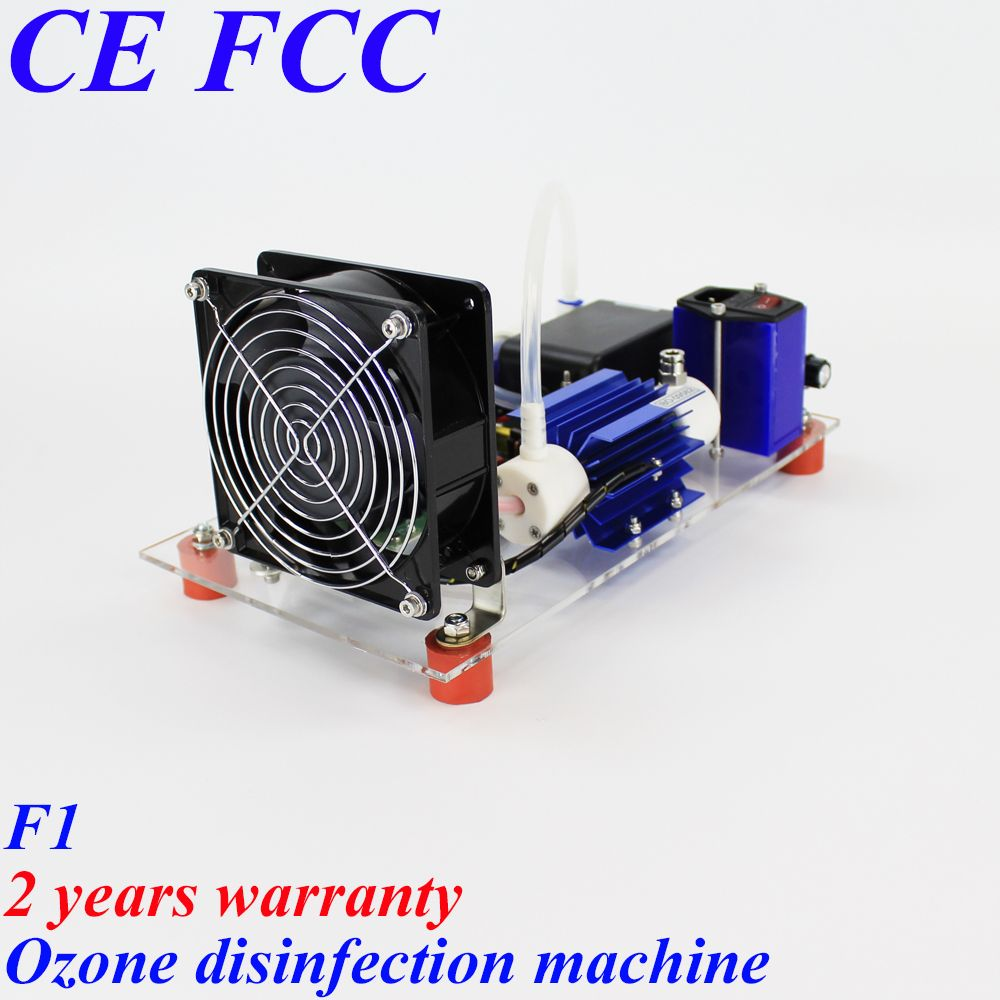 To United States Canada Spain Russia Pinuslongaeva 10g/h 1 3 5 7 10g F1 simple ozone air and water disinfection machine