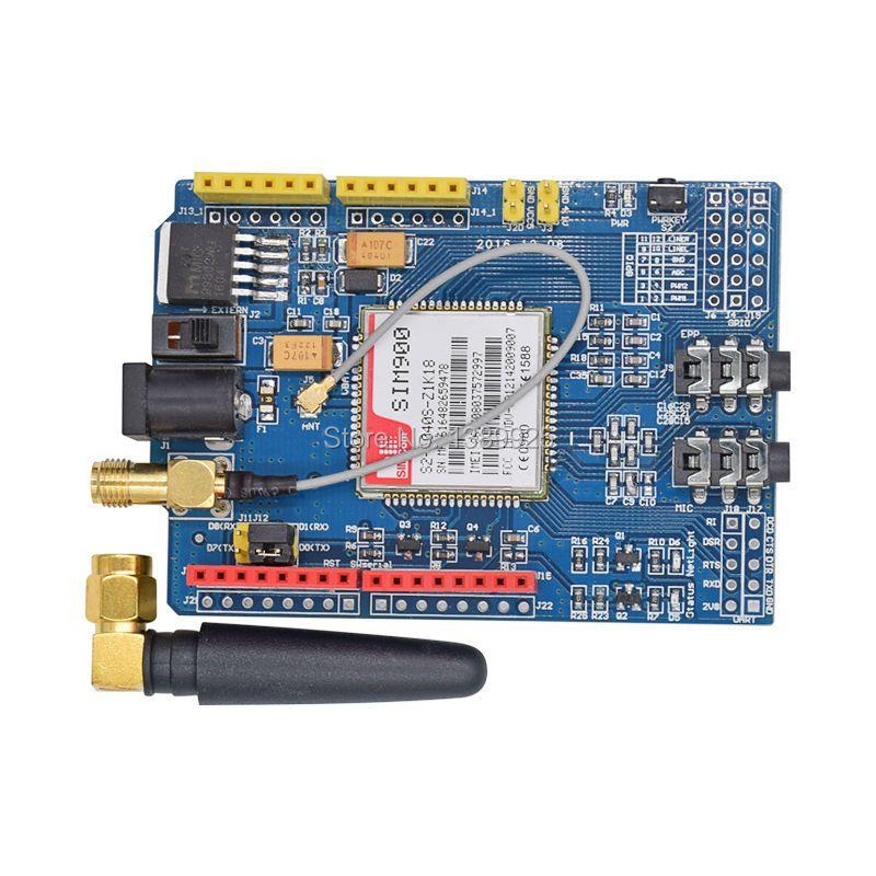 Livraison gratuite 1 PCS/LOT SIM900 GPRS/GSM Conseil de Développement Bouclier Quad-Bande Module de Haute Qualité