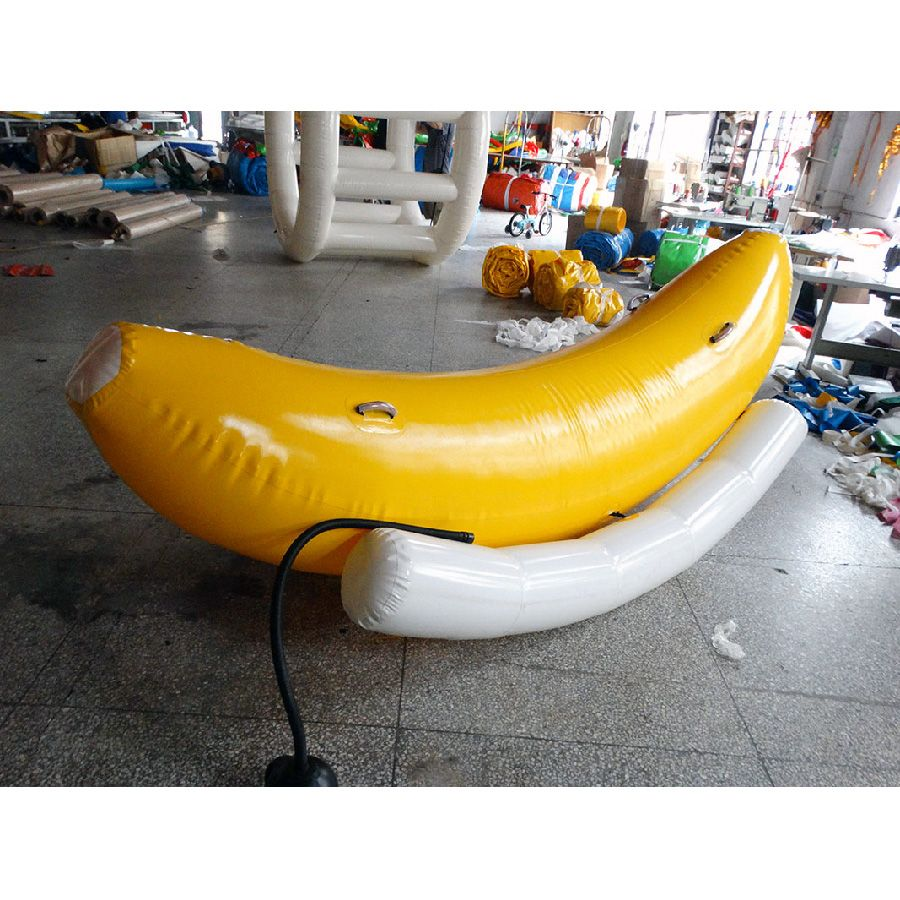 inflatable water seesaw inflatable banama boat for water fun sport