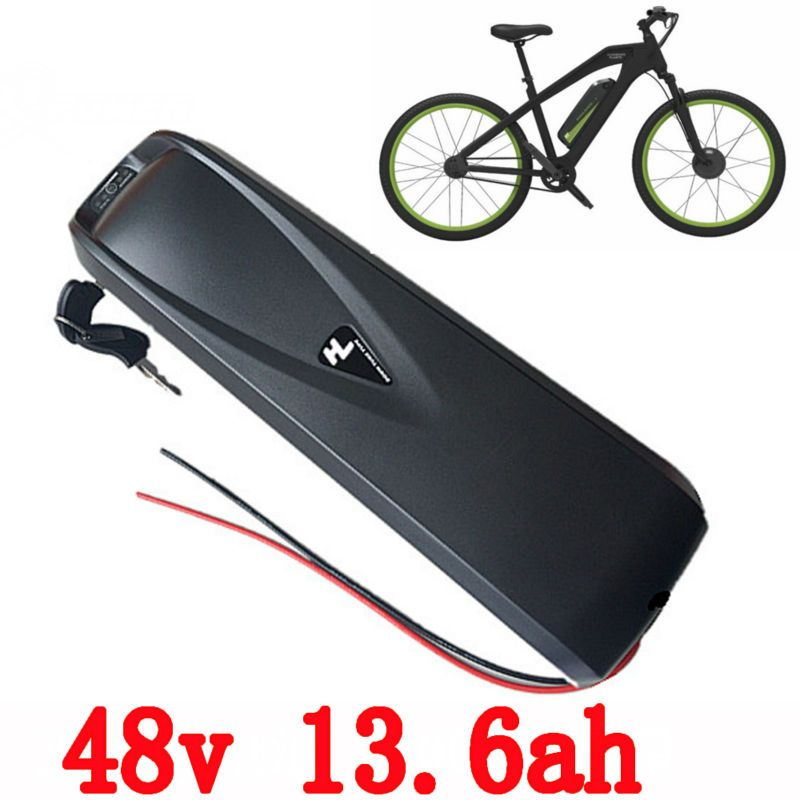 EU US no tax Electric bike down tube battery 48V 13.6Ah Lithium ion use for LG cells battery pack for 48v 750w ebike motor