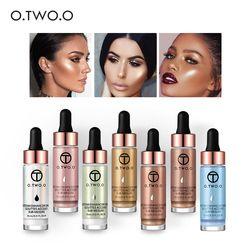 O. dos. O líquido maquillaje Primer cara del resplandor Ultra-concentrado illuminating bronzing gotas maquillaje de cara